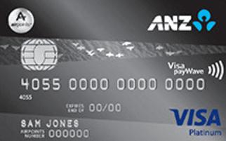 ANZ Airpoints Visa Platinum Credit Card