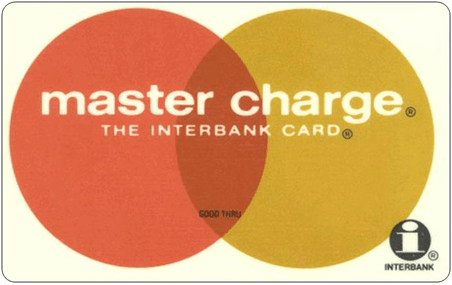 Master Charge Credit Card - predecessor to MasterCard