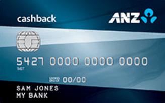 ANZ CashBack MasterCard and ANZ CashBack Visa