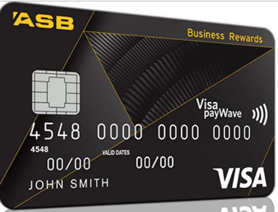 ASB Visa Business Rewards Credit Card - Black