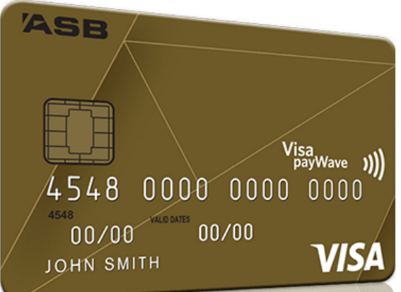 ASB Visa Gold Rewards Credit Card - Gold