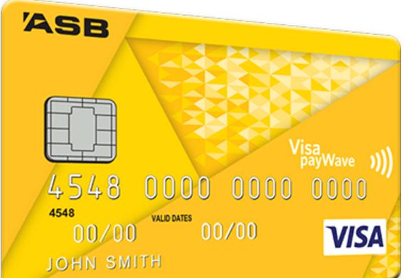 ASB Visa Credit Card - Yellow