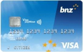BNZ Advantage Classic Visa Credit Card