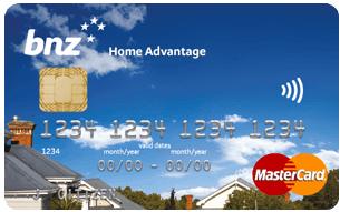 BNZ Home Advantage Credit Card