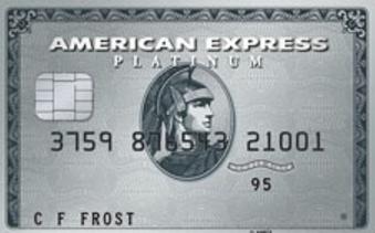 The American Express Platinum Credit Card - Classic card