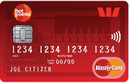 read more about Westpac hotpoints MasterCard Credit Card
