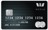 The Westpac hotpoints World MasterCard Credit Card - Black