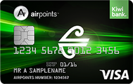 Kiwivank Air New Zealand Airpoints Standard Visa Credit Card
