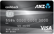 ANZ Cash Back Platinum MasterCard and ANZ CashBack Platinum Visa