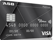 ASB Visa Platinum Rewards Credit Card - Black