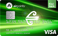 Air New Zealand Airpoints Low fee Visa Credit Card