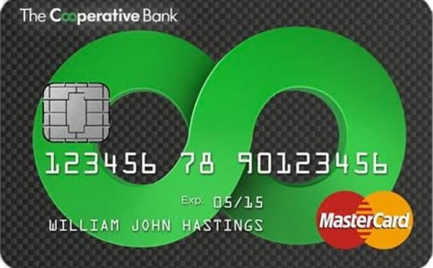 Fair Rate Credit Card from the Co-operative bank