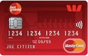 The Westpac hotpoints MasterCard Credit Card